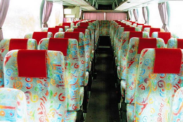 Автобус Neoplan 116 (2). Интерьер салона.